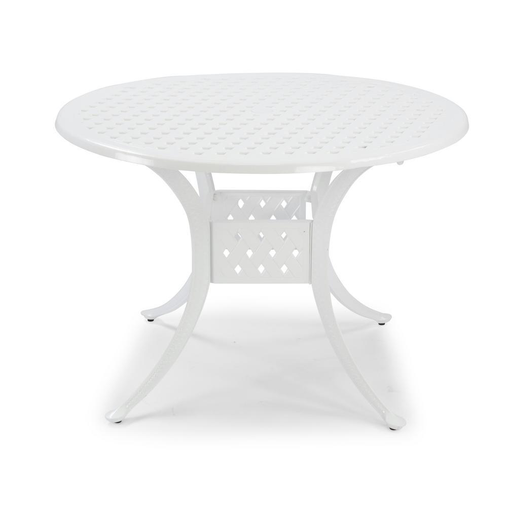 Umbrella Hole Patio Tables Patio Furniture The Home Depot