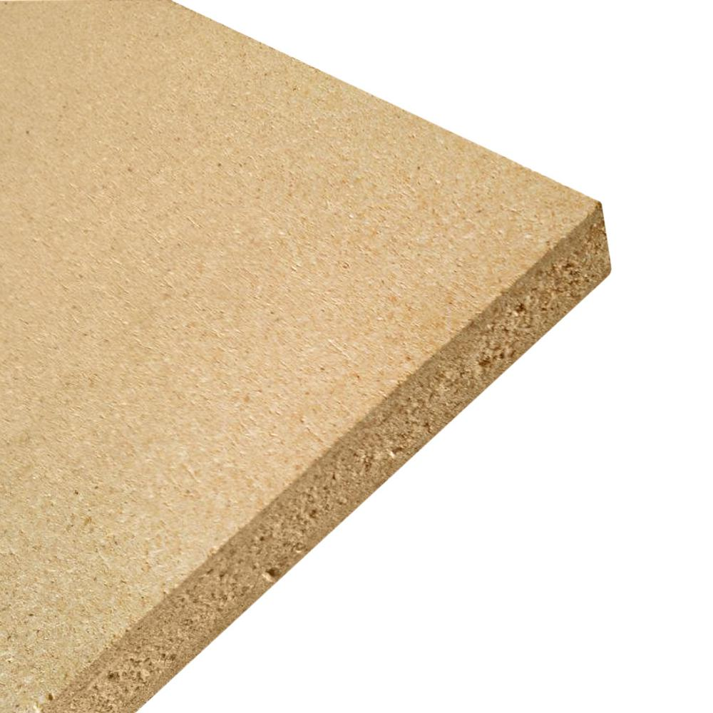 Dimensions Common 5 8 In X 2 Ft X 4 Ft Actual 0 609 In X 23 75 In X 47 75 In Particle Board 224437 The Home Depot
