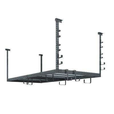 VersaRac Set with 1-Overhead Rack and 20-Piece Accessory Kit (Versarac, 2xS-Hooks, 2xJ-Hooks)