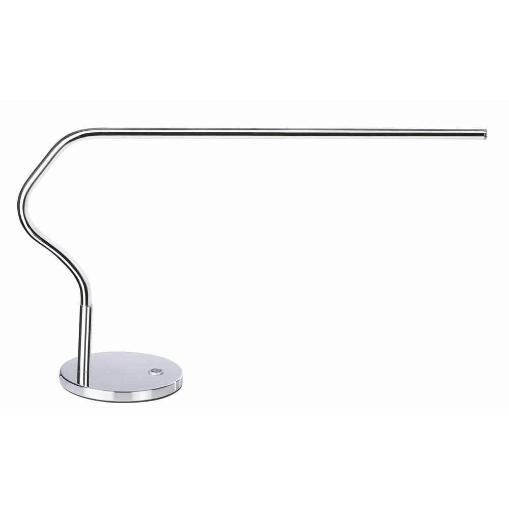 JONATHAN Y Julian 15 in. Chrome Integrated LED Task Lamp