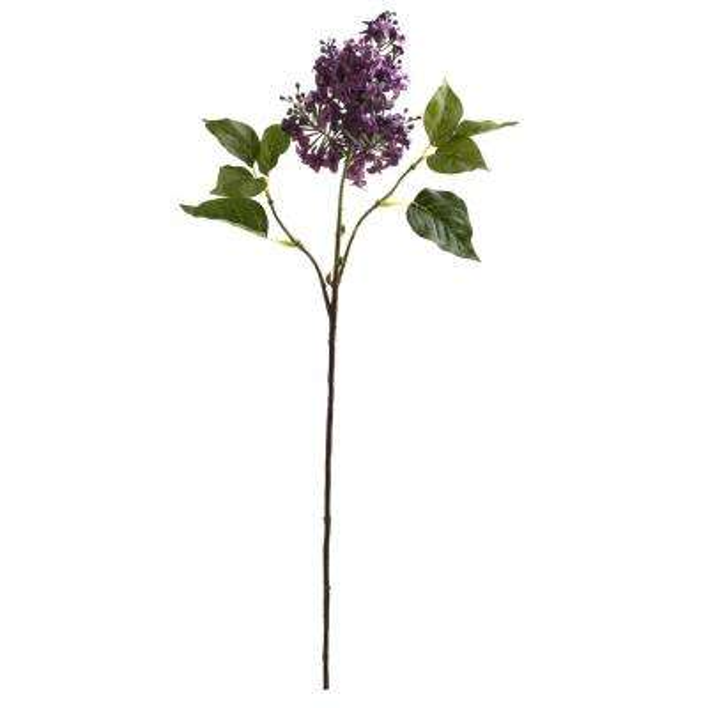 Indoor 30 in. Lilac Artificial Flower (Set of 6)