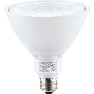 90W Equivalent Soft White PAR38 Dimmable LED Light Bulb
