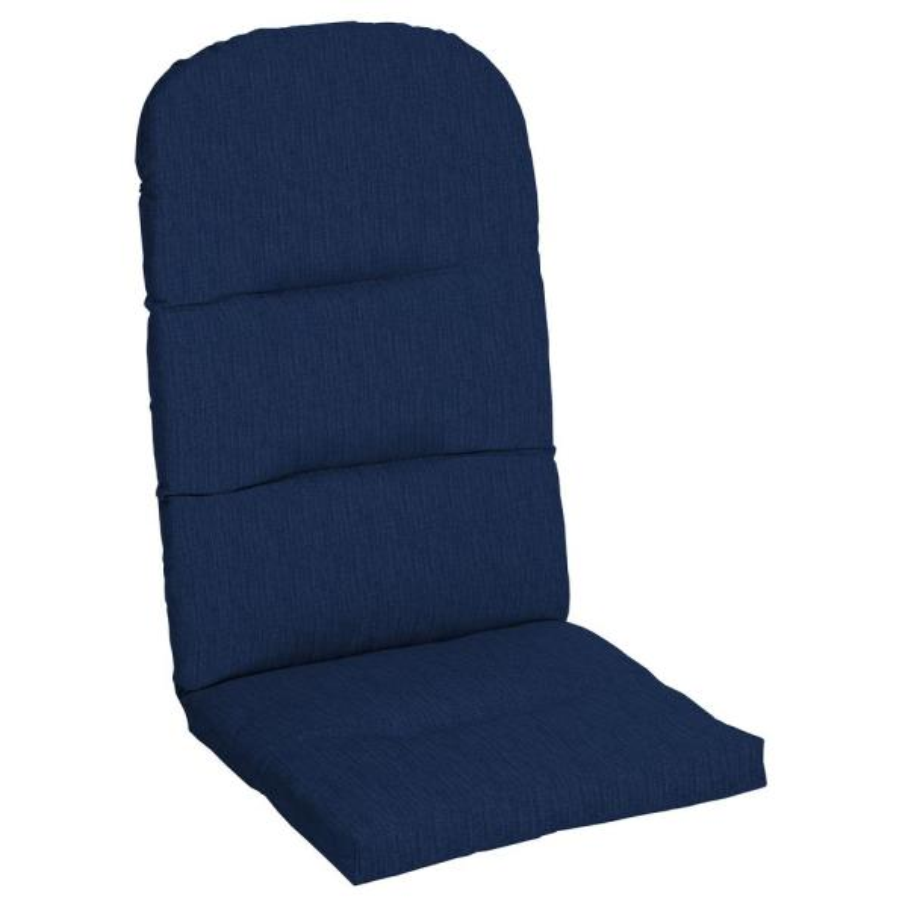 20.5 x 49 Sunbrella Spectrum Indigo Outdoor Adirondack Chair Cushion