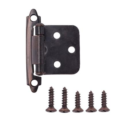 Oil Rubbed Bronze Traditional Variable Overlay Hinge (10-Pairs)