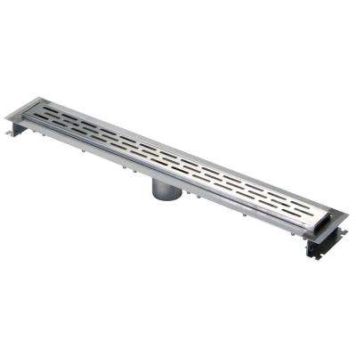 28 in. Stainless Steel Linear Shower Drain
