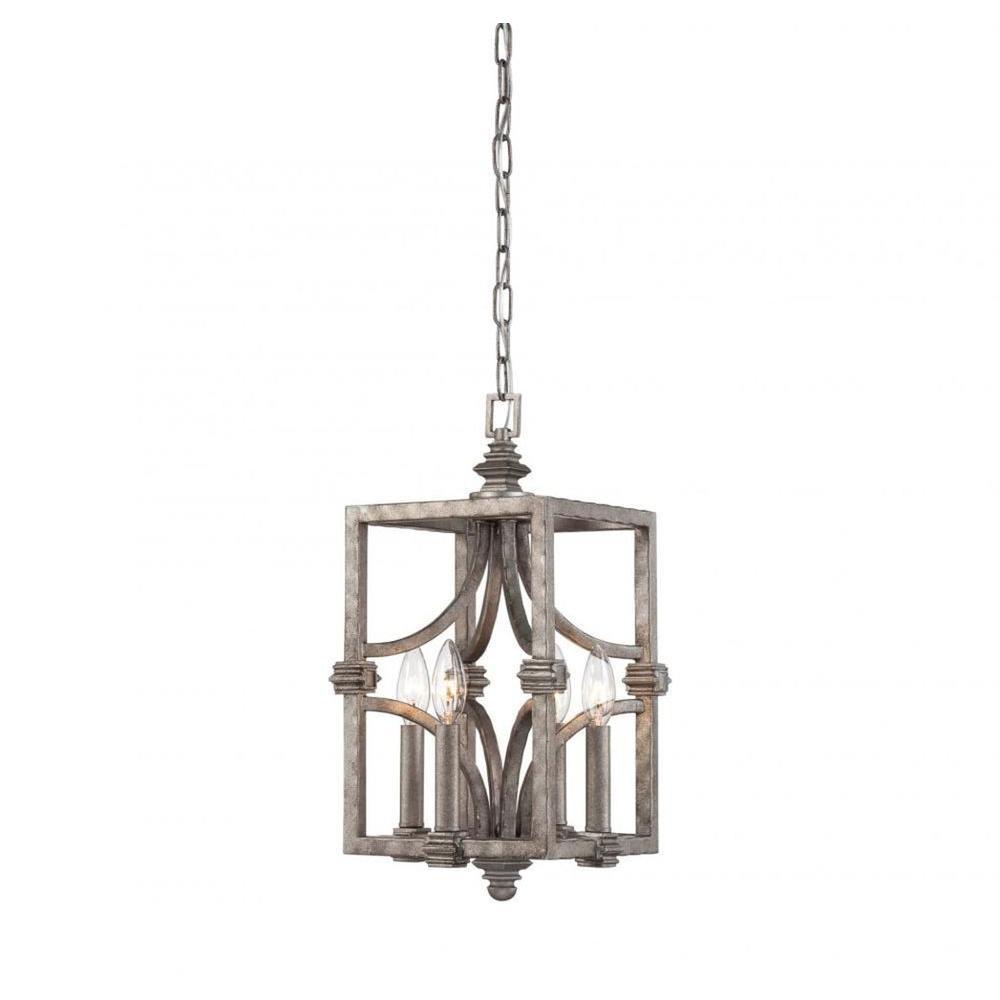 illumine seandee 4light aged steel pendant