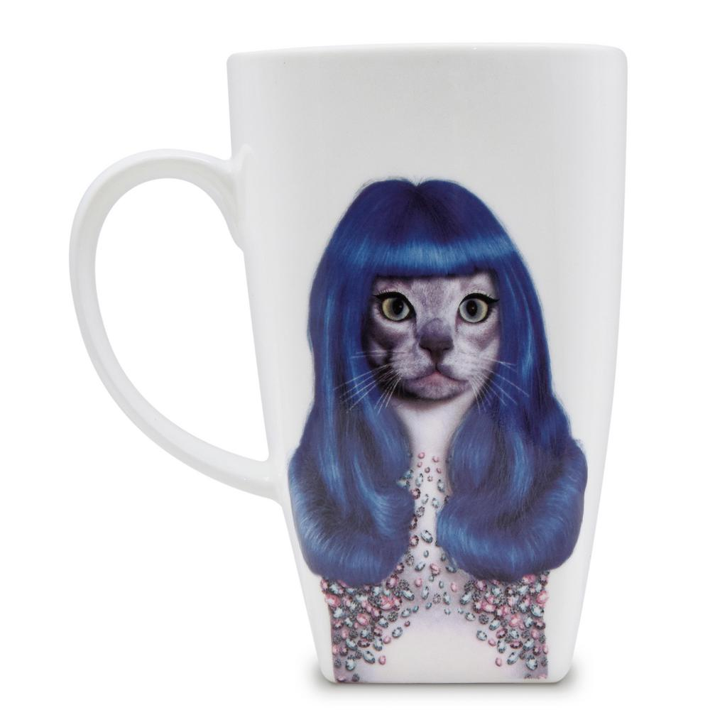 20 oz.  Gurl  Pets Rock Collectible Fine Bone China Mug, Gurl These Pets Rock fine bone china coffee mugs give you the option to see the adorable pets you love dressed as celebrities on your mugs. Available with a variety of furry creatures to fit any animal lovers desires. What better way to start your morning than with a cup of Joe and your adorable Pets Rock buddy. The porcelain is milky white in color, beautiful in shape and comfortable in your hand. Color: Gurl.