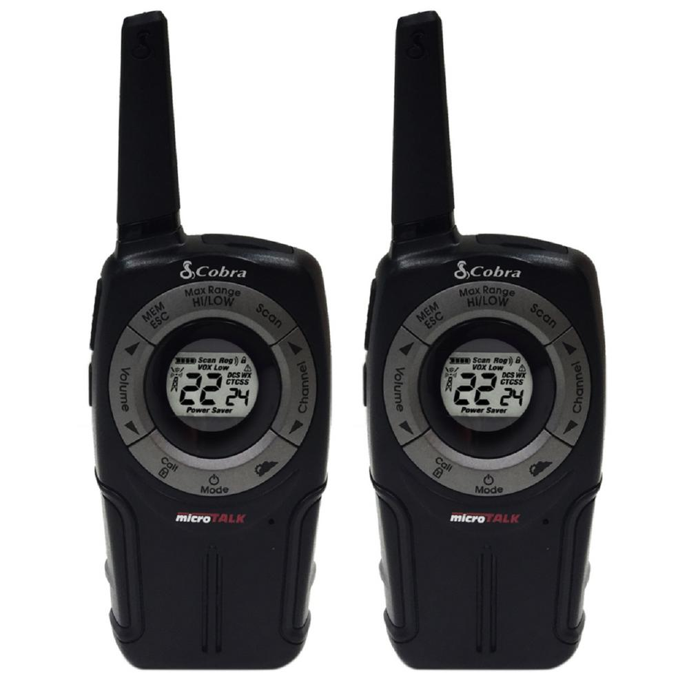 PRO Series 32-Mile Range Bluetooth 2-Way Radio