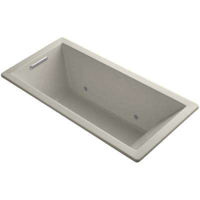 Underscore 5.5 ft. Air Bath Tub in Sandbar