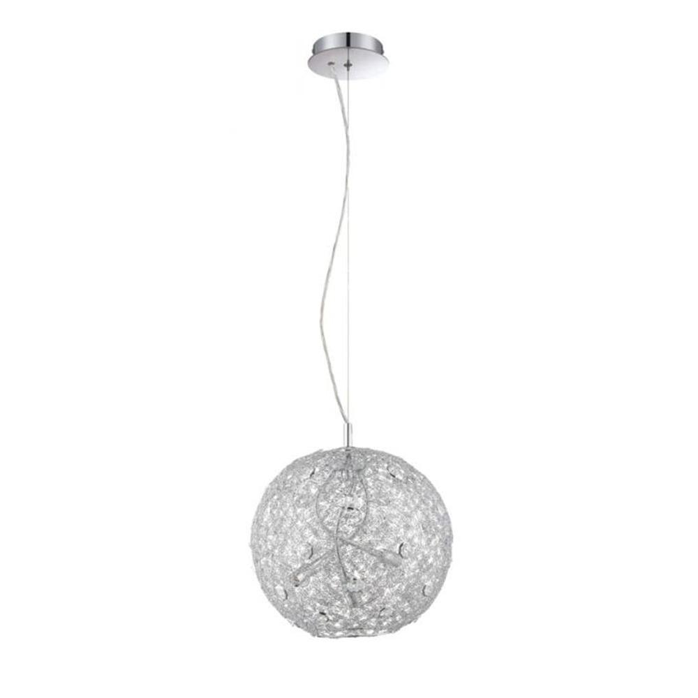 Filament Design Ida 3-Light Chrome Pendant