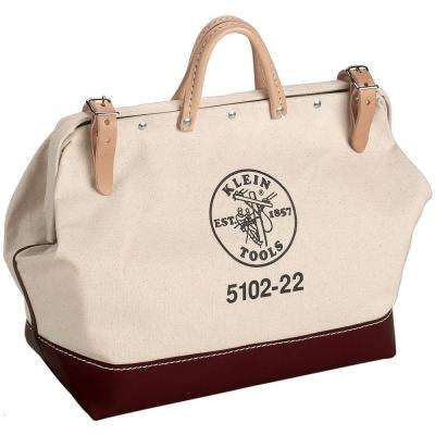 22 in. Canvas Tool Bag