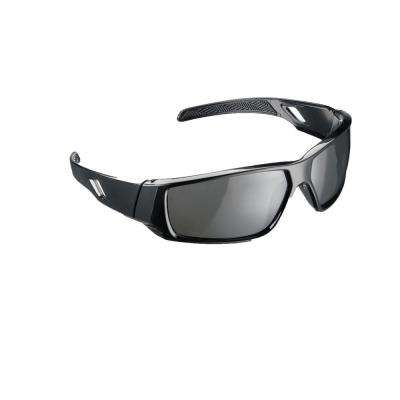 Holmes Workwear Black Frame with Tinted Scratch Resistant Lenses Polarized Safety Glasses (Case of 4)