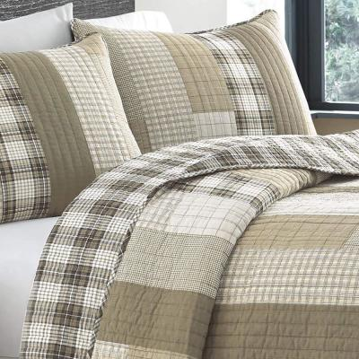 Fairview Plaid Cotton Quilt Set
