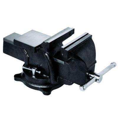 6 in. Heavy-Duty Bench Vise with Swivel Base