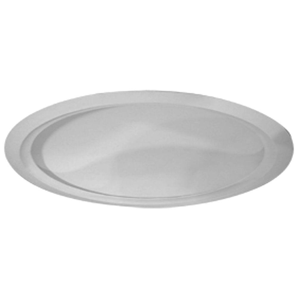 Ekena Millwork 63-5/8 in. Artisan Ceiling Dome with Light Ring
