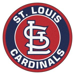 Fanmats Mlb St Louis Cardinals Navy 2 Ft X 2 Ft Round