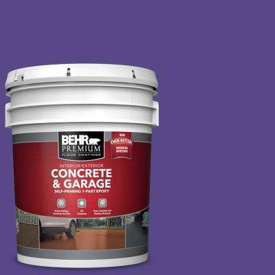 5 gal. #P560-7 Kings Court Self-Priming 1-Part Epoxy Satin Interior/Exterior Concrete and Garage Floor Paint