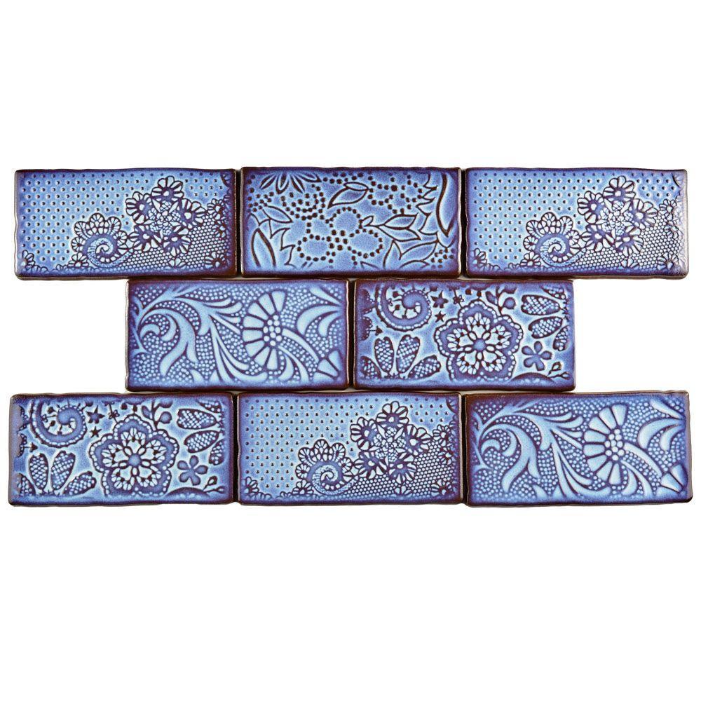 Antic Feelings Via Lactea 3 In X 6 Ceramic Wall Tile 1