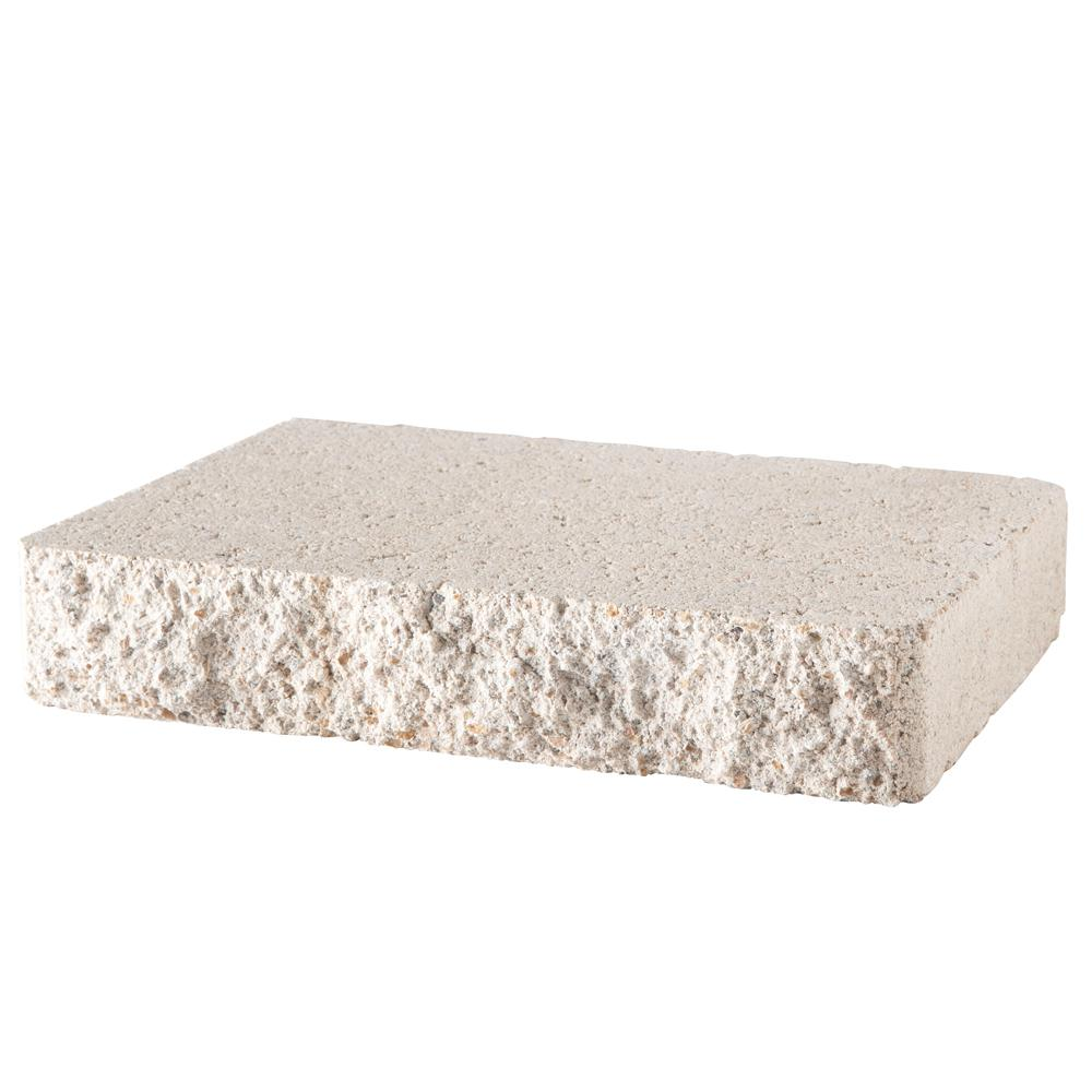 Pavestone 2 in. x 12 in. x 8 in. Limestone Concrete Retaining Wall Cap (120-Piece/119 sq. ft./Pallet)