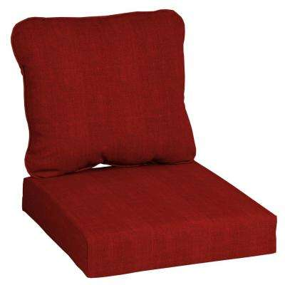 CushionGuard Chili 2-Piece Deep Seating Outdoor Lounge Chair Cushion