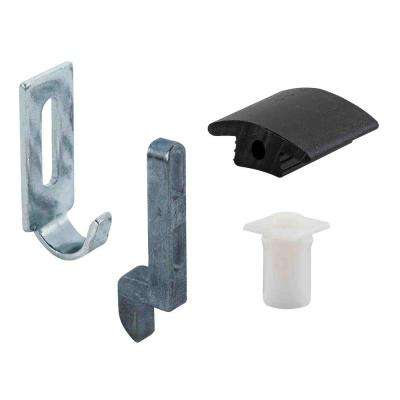Sliding Screen Door Strike, Guide and Adjustment Kit, Anjac