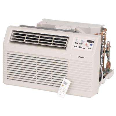 9,300 BTU 230-Volt/208-Volt R410A Through-the-Wall Air Conditioner with 3.5 kW Electric Heat and Remote
