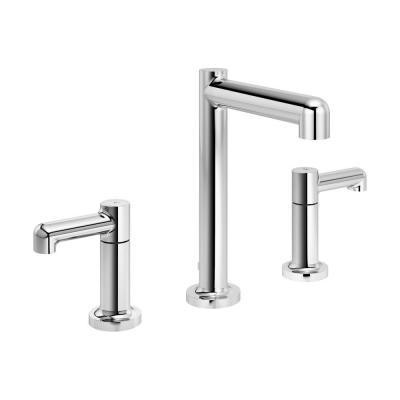 Museo 8 in. Widespread 2-Handle Bathroom Faucet with Pop-Up Drain Assembly in Chrome