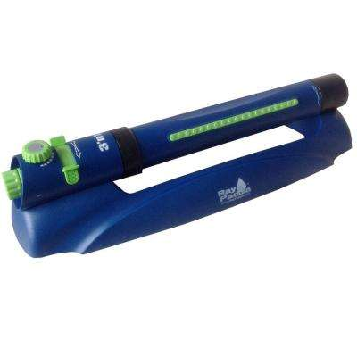 3-in-1 Multi Pattern Turbo Oscillating Sprinkler