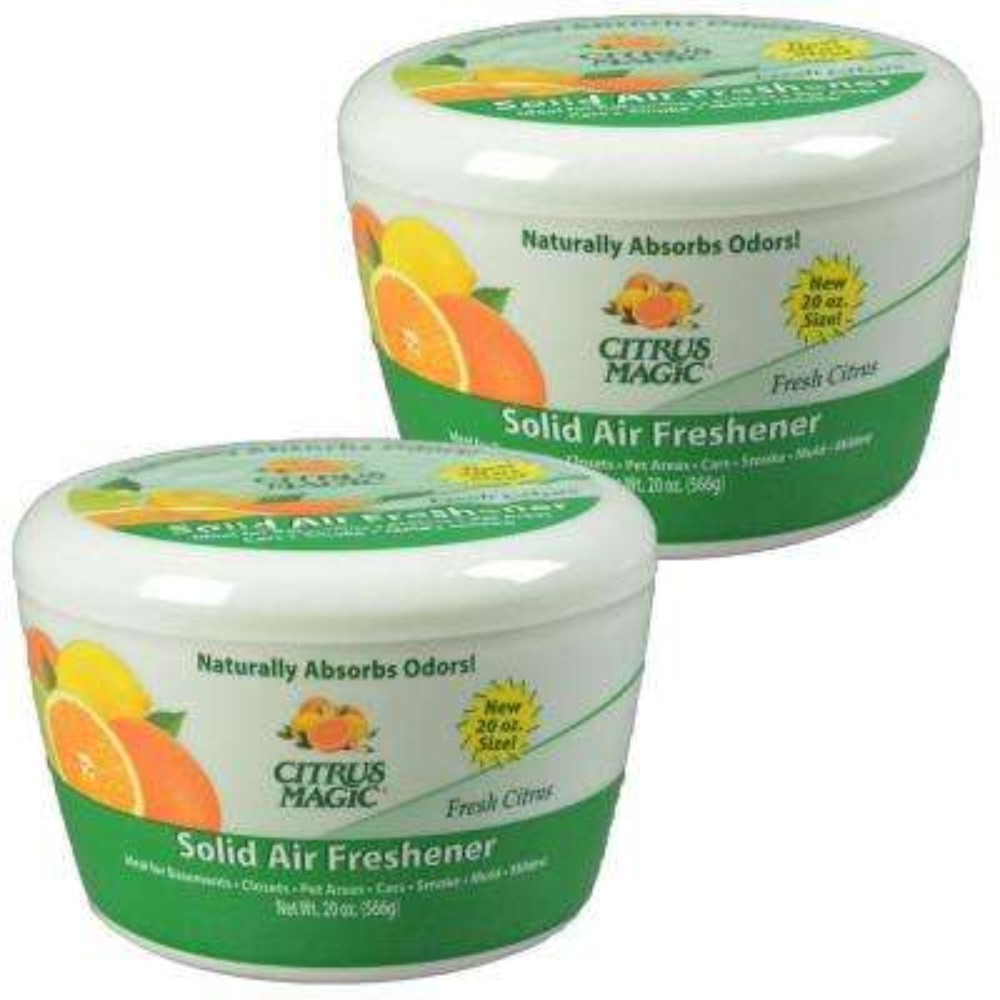20 oz. Fresh Citrus Odor Absorbing Air Freshener (2-Pack)