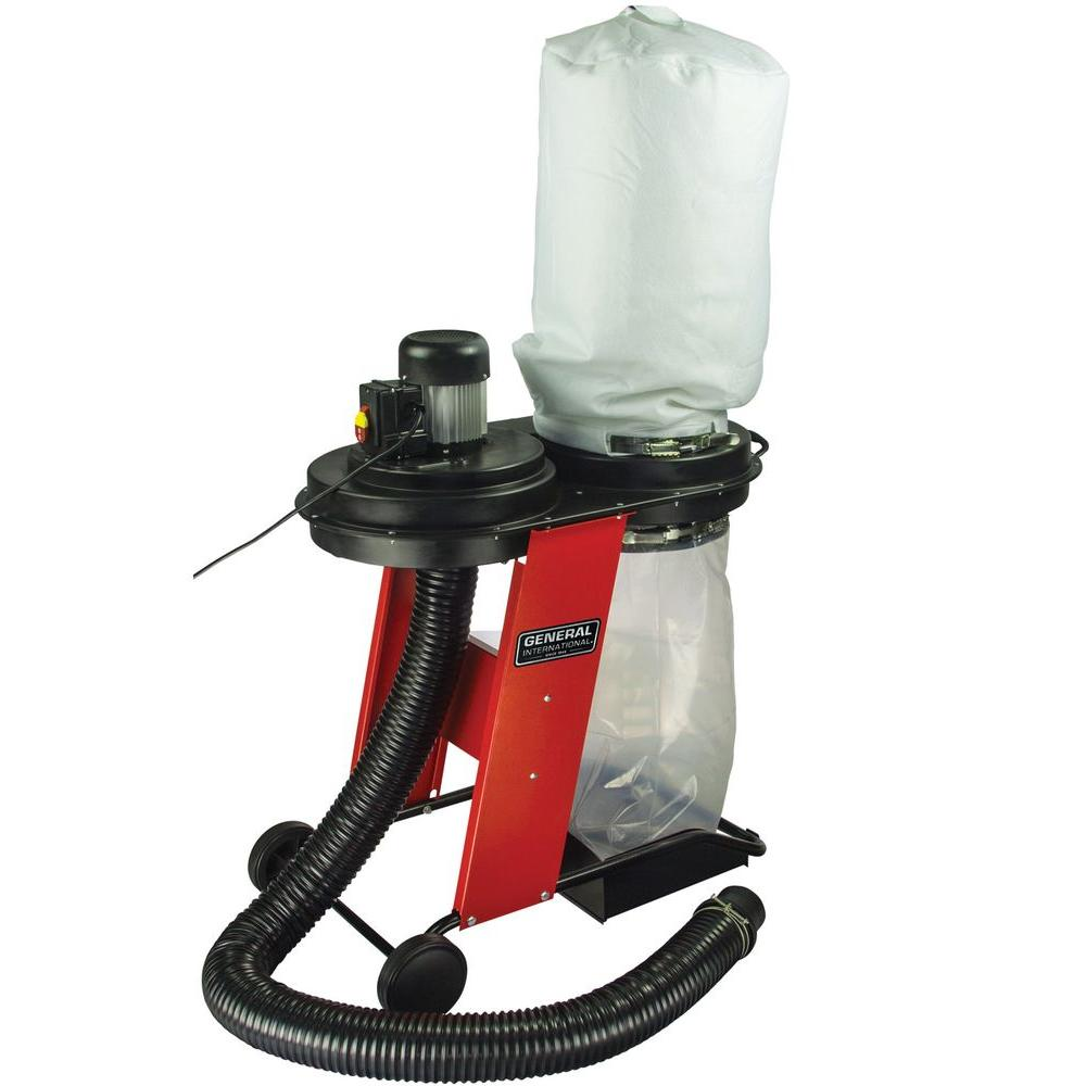 3/4 HP 441 CFM 1-Phase 120-Volt Vertical Bag Dust Collector System