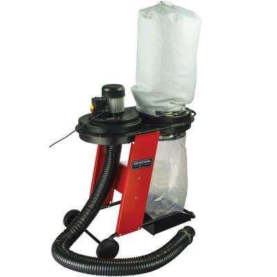 3/4 HP 441 CFM 1-Phase 120-Volt Vertical Bag Dust Collector System with Wheels