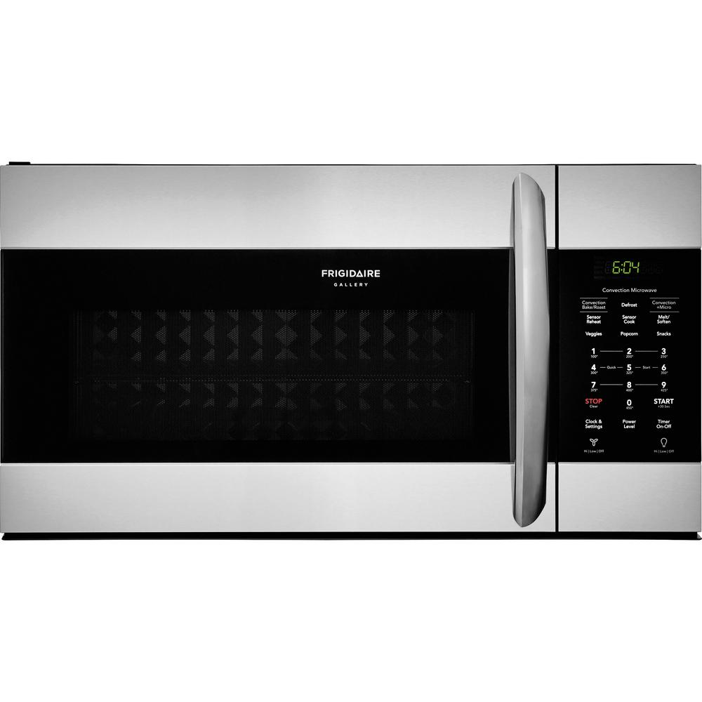 1.5 cu. ft. Over the Range Convection Microwave in Smudge-Proof Stainless