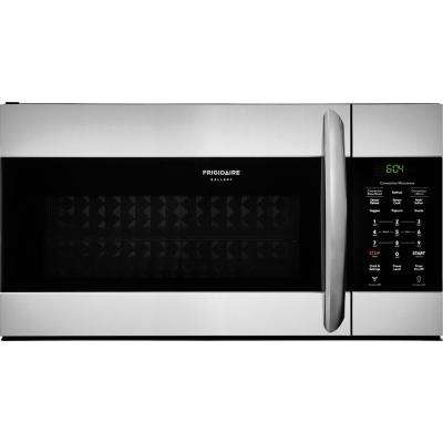 1.5 cu. ft. Over the Range Convection Microwave in Smudge-Proof Stainless Steel