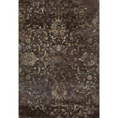Karelia Ethereal Mushroom Brown 8 ft. x 11 ft. Area Rug