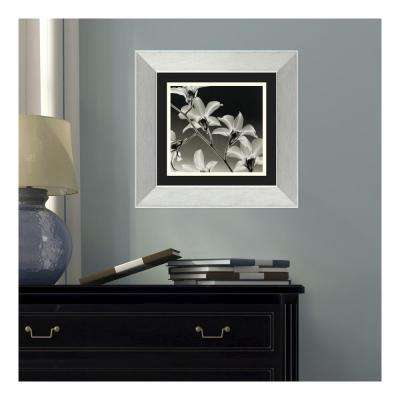 16 in. W x 16 in. H 'Symphony in Red and Khaki II' by Laurie Maitland Printed Framed Wall Art