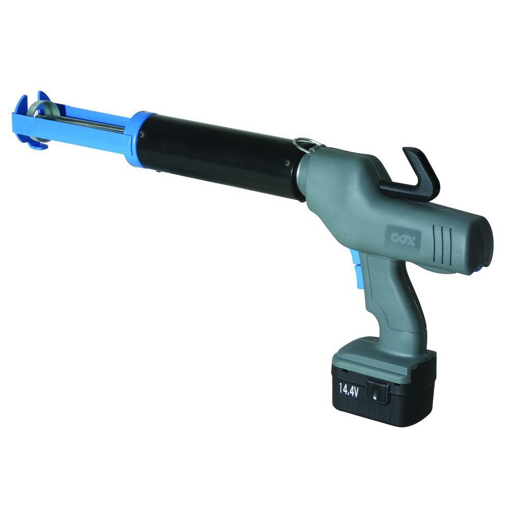 COX 14.4-Volt 380 ml Co-Axial Caulk Gun