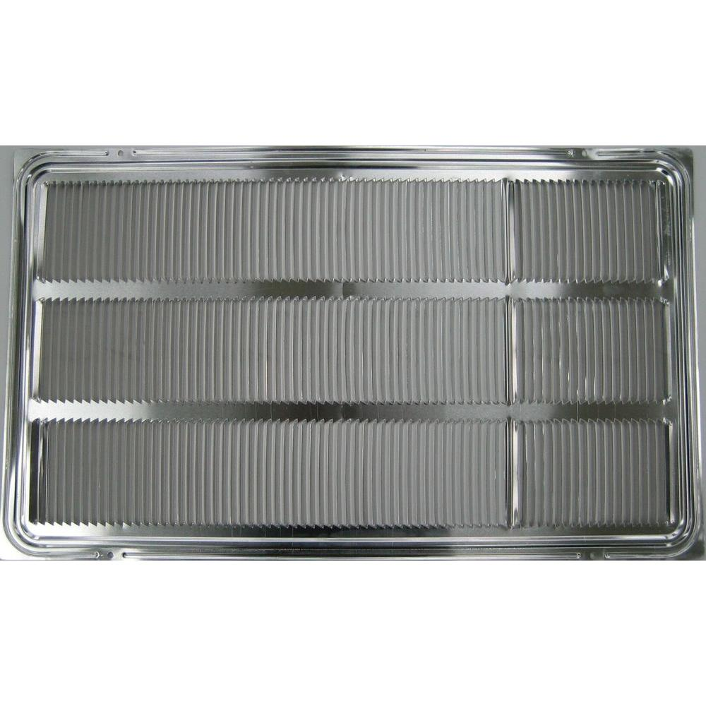 lg electronics stamped aluminum grille for lg built in air