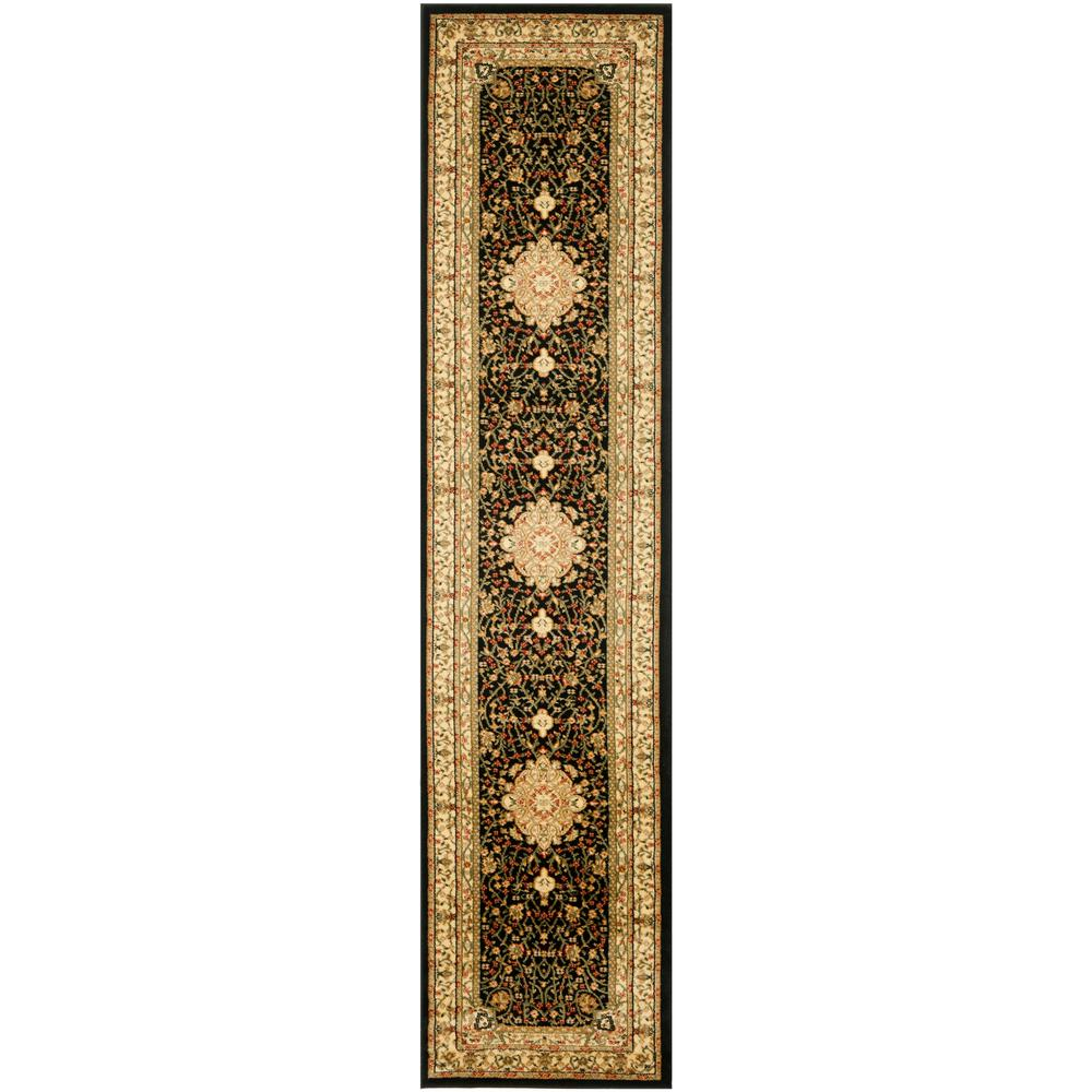 Safavieh Lyndhurst Black/Ivory 2 ft. 3 in. x 6 ft. Runner