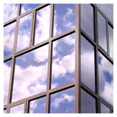 24 in. x 50 ft. EXS35 Exterior Silver Heat Rejection Window Film