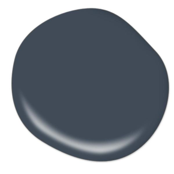 Reviews For Behr Premium Plus 1 Qt Ppf 58 Dark Night Eggshell Enamel Low Odor Interior Paint And Primer In One 230004 The Home Depot