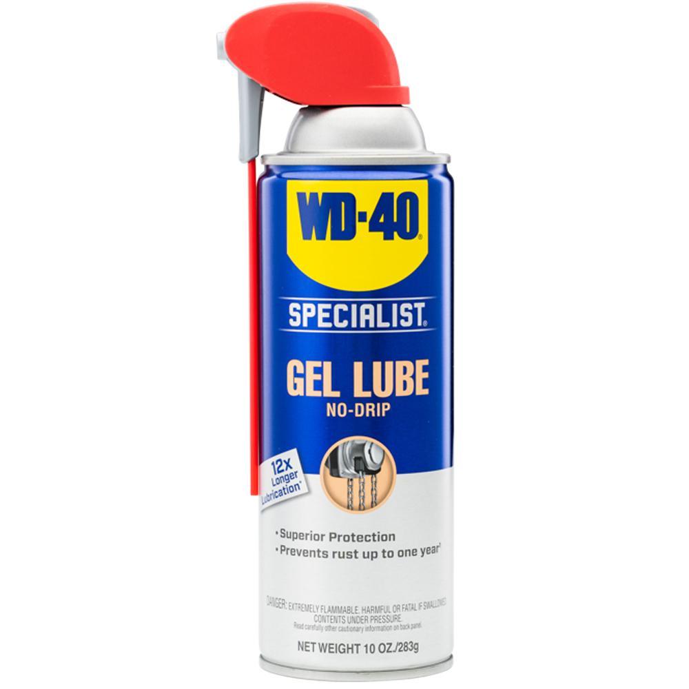 WD-40 SPECIALIST 10 oz. Spray and Stay Gel Lubricant
