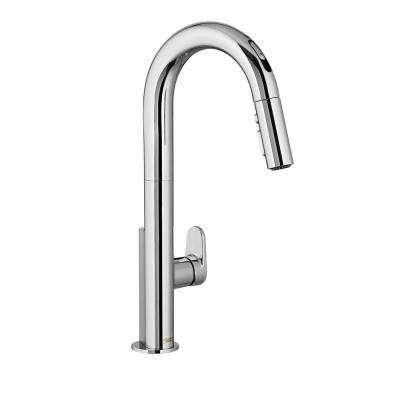 Beale Single-Handle Pull-Down Sprayer Kitchen Faucet with Selectronic Hands-Free Technology in Polished Chrome