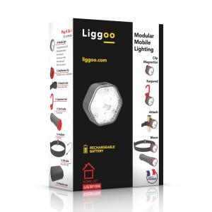 Liggoo Home Multi-Purpose Freehand Rechargeable Lighting Kit by Liggoo