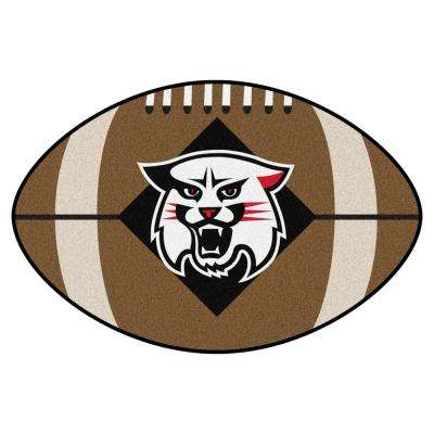 NCAA Davidson College 20.5 in. 32.5 in. Football Mat Area Rug
