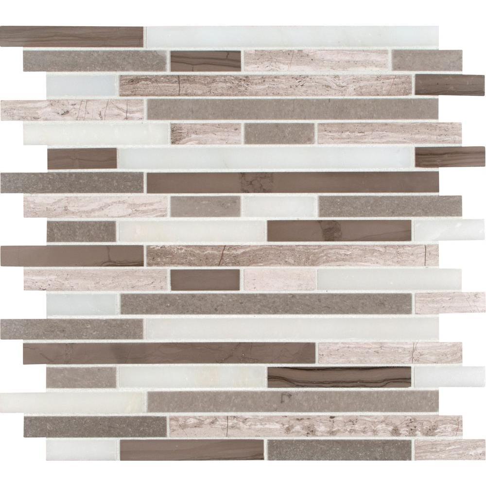 arabescato carrara herringbone pattern 12 in x 12 in x 10 mm honed marble meshmounted mosaic tile 10 sq ft the home depot