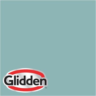 Glidden Premium 1 gal. #HDGB24D Gentle Turquoise Eggshell Interior Paint with Primer