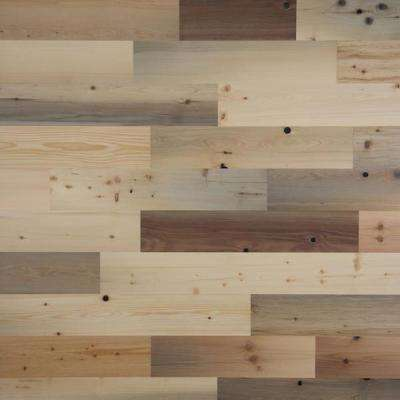 1/8 in. x 5 in. x 12-42 in. Peel and Stick Natural Wooden Decorative Wall Paneling (40 sq. ft./Box)