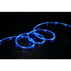 16 ft. 80-Light Blue LED Mini Rope Light