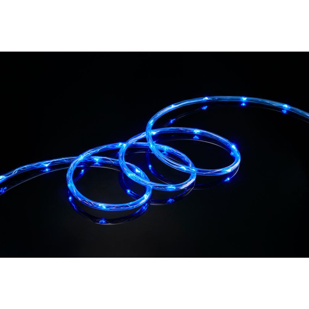 16 ft. 80-Light Blue LED Mini Rope Light