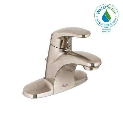 Colony Pro 4 in. Centerset Single-Handle Bathroom Faucet in Brushed Nickel